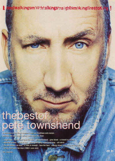 Pete Townshend - The Best Of Pete Townshend - 1996 UK