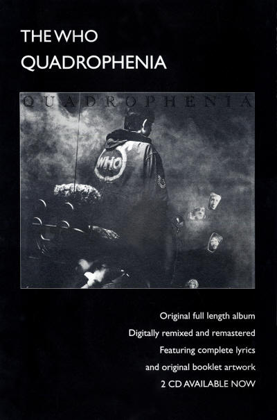 The Who - Quadrophenia: Remixed & Remastered - 1996 UK