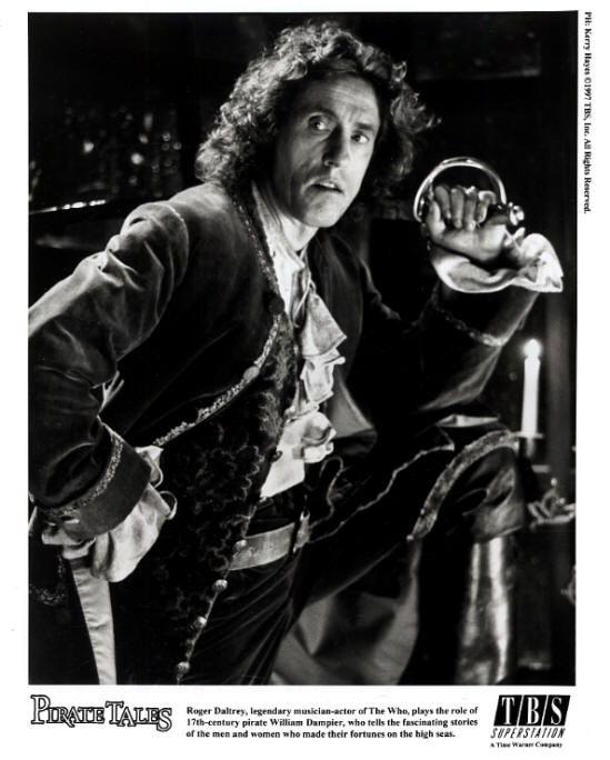 Roger Daltrey - Pirate Tales - 1997 USA Press Kit
