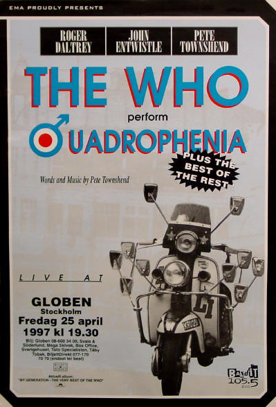 The Who - Quadrophenia - 1997 Sweden (Promo)