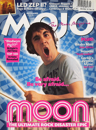 Keith Moon - UK - MOJO - September, 1998