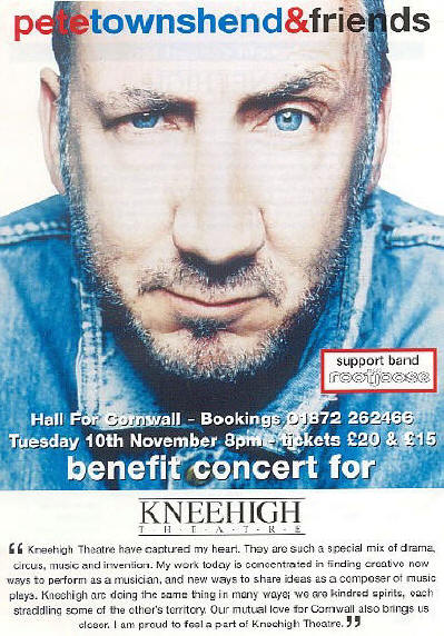 Pete Townshend - Cornwall - 1998 UK