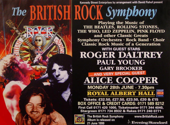 Roger Daltrey - British Rock Symphony - 1999 UK (Promo)