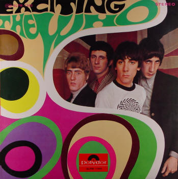 The Who - Exciting The Who - 1968 Japan LP