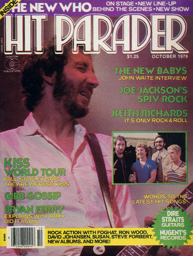 The Who - USA - Hit Parader - October, 1979