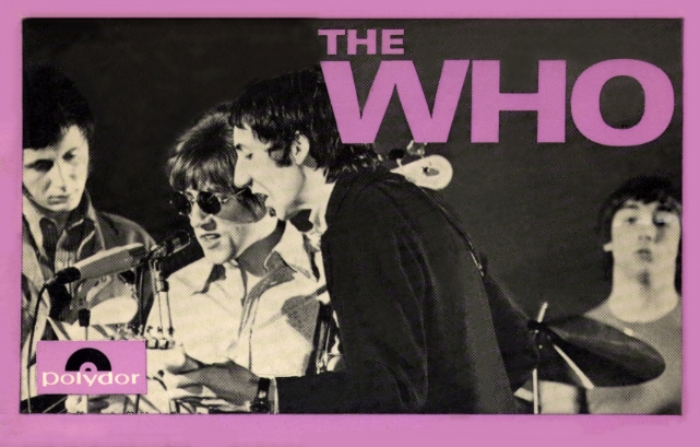 The Who - Happy Jack/I Can See For Miles/Pictures Of Lily/I'm A Boy - 1967 France Cassette (EP)