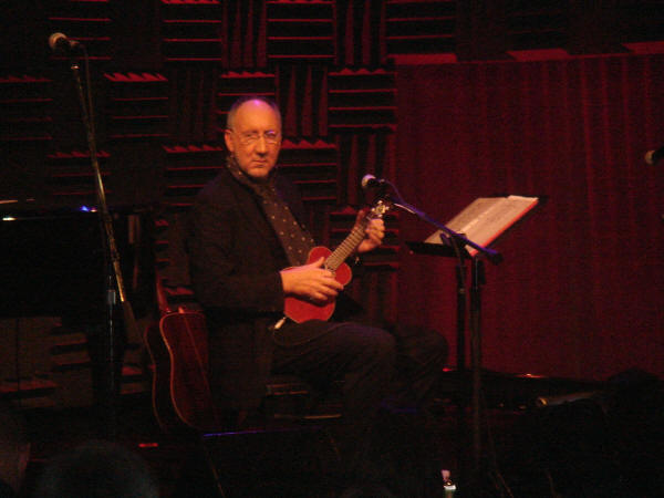 "Pete Townshend playing ""Blue, Red & Grey"" at Joe's Pub, New York City - September 14, 2006"