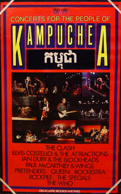 The Who - Concerts For The People Of Kampuchea - 1981 USA (Promo)