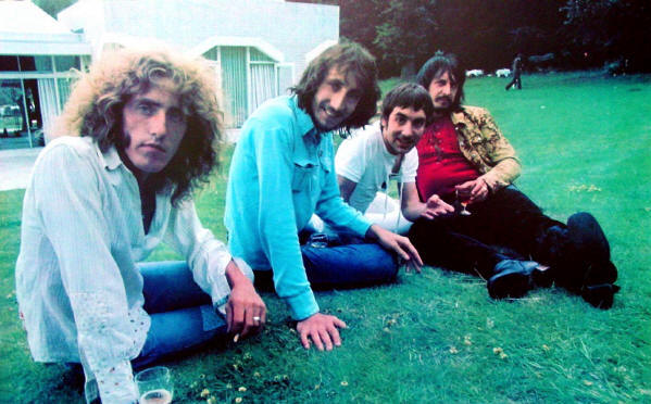 The Who (on Keith's Lawn) - Circa 1971 USA