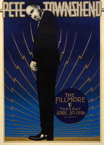 Pete Townshend - Fillmore West Concert - 1996 USA (Venue Promo)