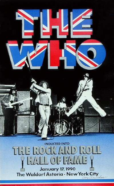 "The Who - ""The Rock & Roll Hall Of Fame""- 1990 USA (Promo)"