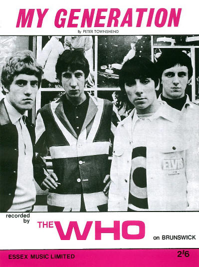 The Who - UK - My Generation - 1965