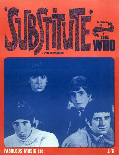 The Who - UK - Substitute - 1966