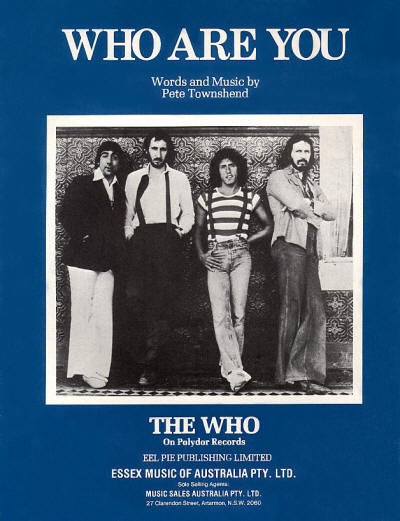 The Who - Australia - Who Are You - 1978