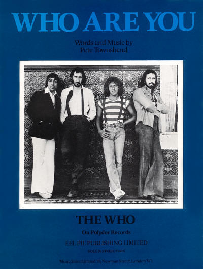 The Who - UK - Who Are You - 1978