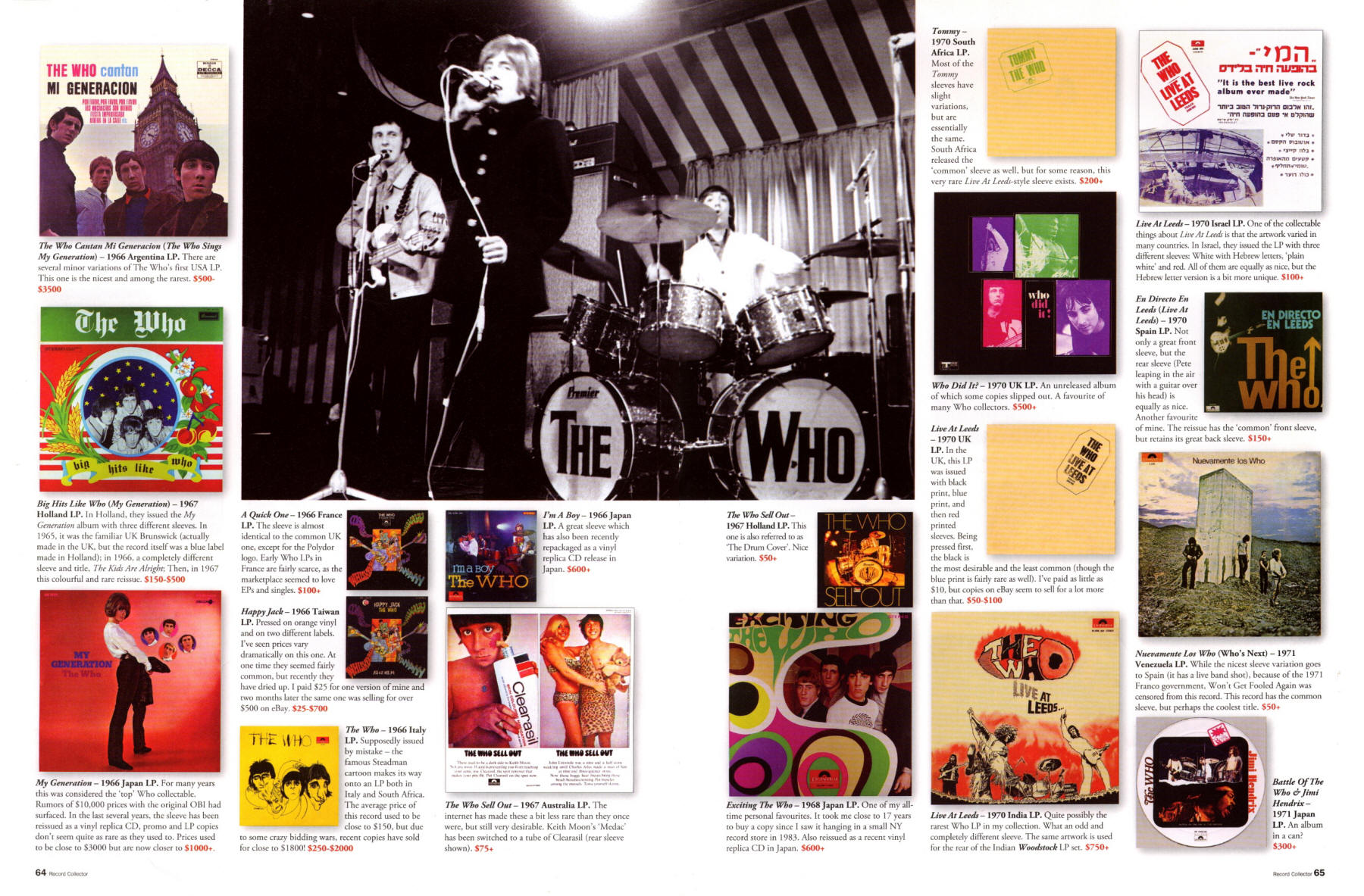 The Who - Record Collector Magazine - June, 2007
