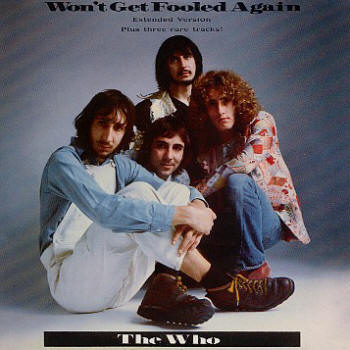 The Who - Won't Get Fooled Again - 1988 CD Single (EP)