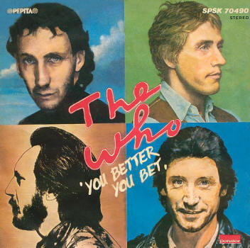 The Who - You Better, You Bet - 1981 Hungary 45